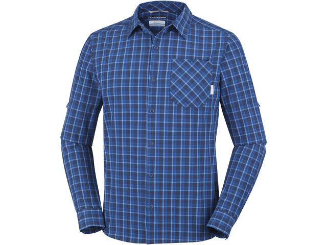 Columbia Triple Canyon T-shirt à manches longues Homme, super blue